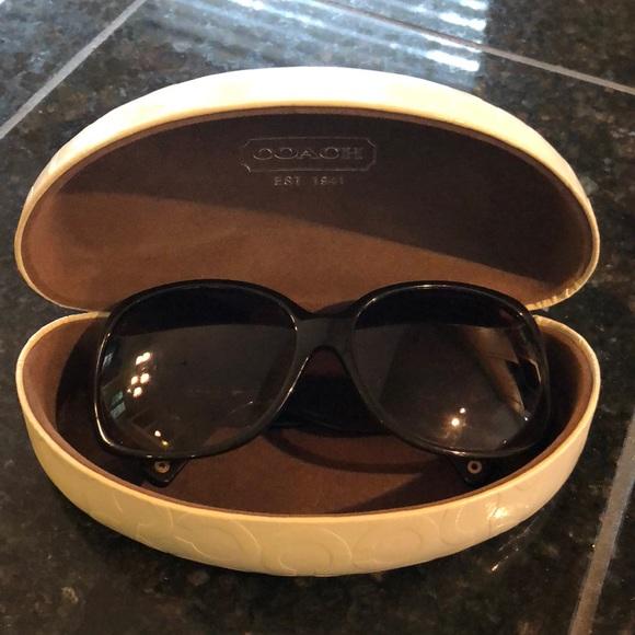 11af2c28dd31 Coach Accessories | Odessa Sunglasses In Brown S822 | Poshmark